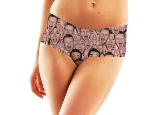 Partner's Face On Underwear