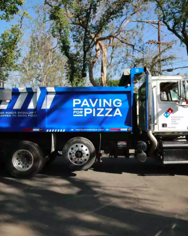 Dominos Are Paving Potholes To Stop Your Pizza From Getting Ruined pavingforpizza9