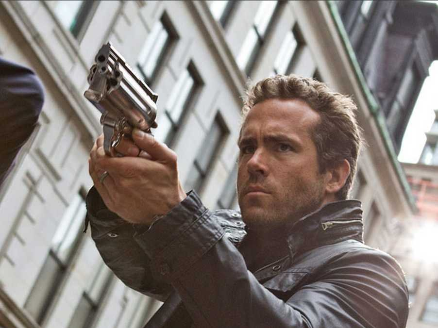 Ryan Reynolds in RIPD