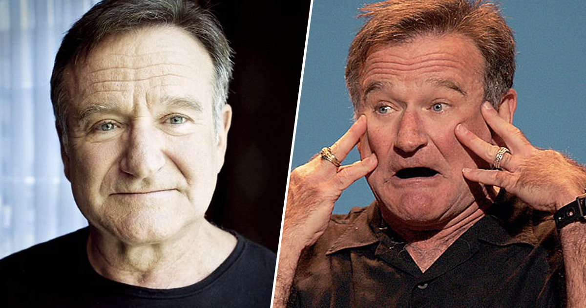 Robin Williams Voted Funniest Person Of All Time