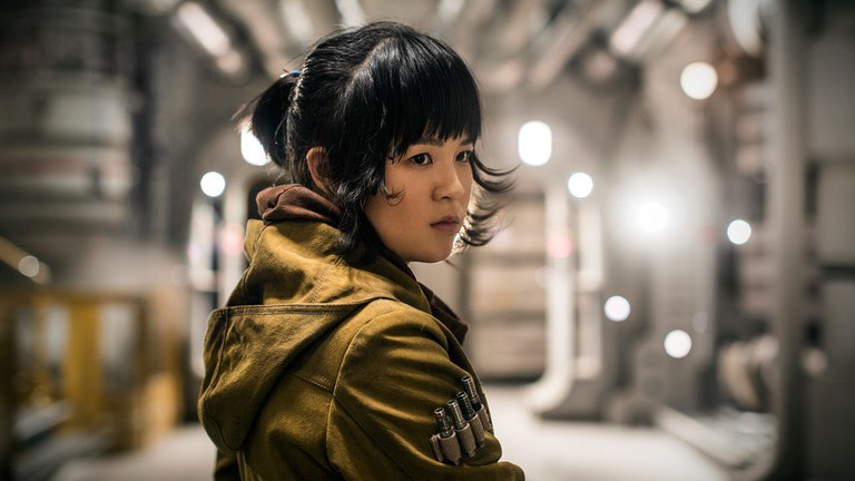Kelly Marie Tran as Rose Tico
