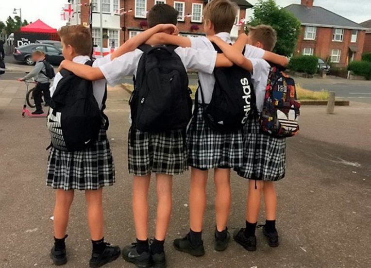 School Bans Shorts But Says Boys Could Wear Skirts Instead