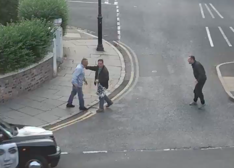 Man shouting racist abuse in Liverpool