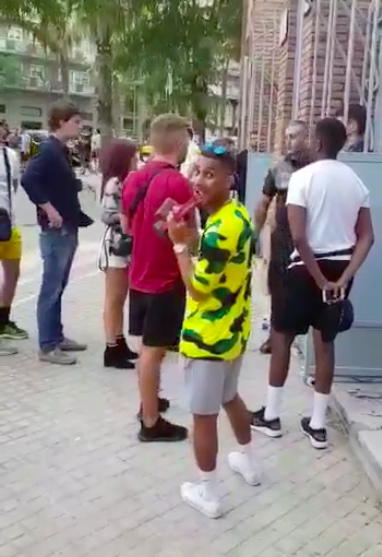 Black people stopped from entering Barcelona club
