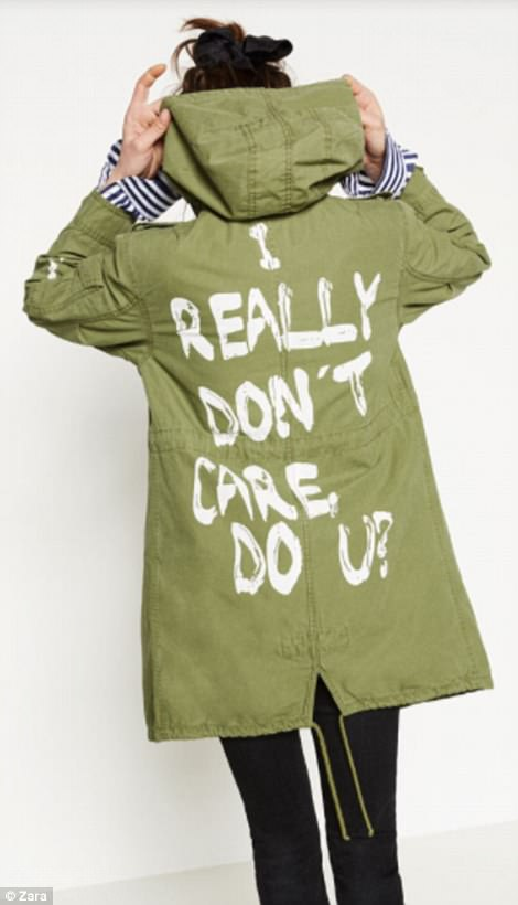 I really don't care, do u? Zara jacket