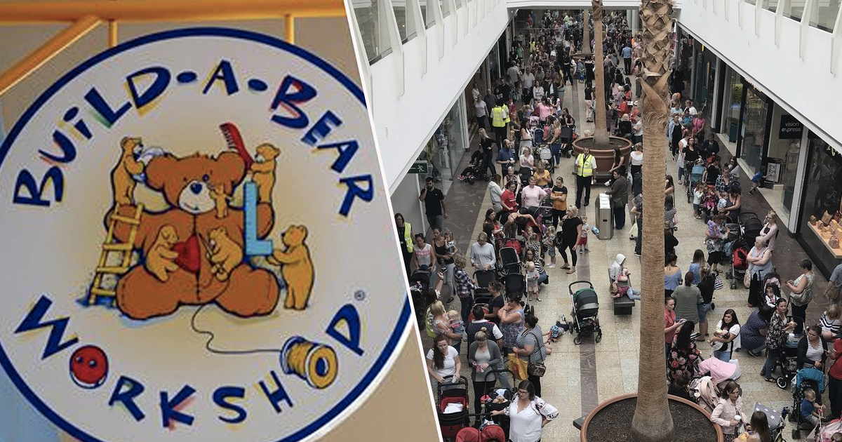 Fights Break Out As Parents Queue For Nine Hours Outside Build-A-Bear