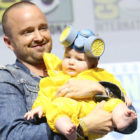 Aaron Paul Dresses Daughter Up As Mini Heisenberg For Comic-Con