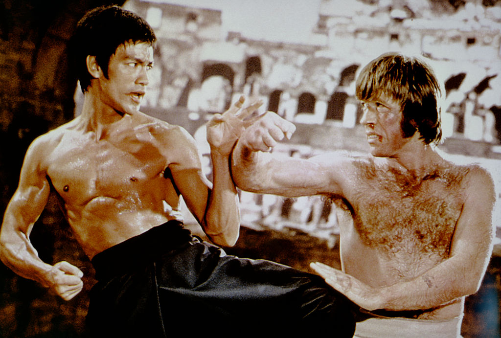 Bruce Lee Voted Greatest Martial Artist In History Bruce Lee versus Chuck Norris Way of The Dragon