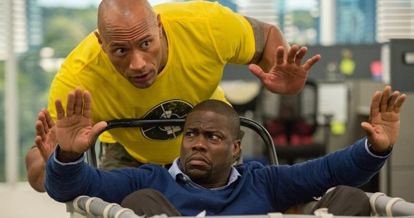 rock dwayne johnson kevin hart central intelligence