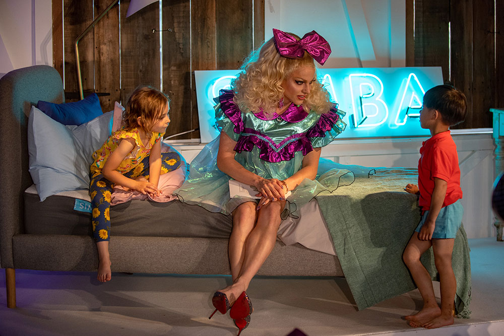 Study Shows One In Four Children Are Worried About Their Physical Appearance Courtney Act and children