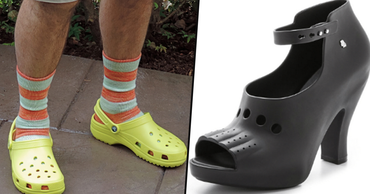 High Heel Crocs Are Now A Thing