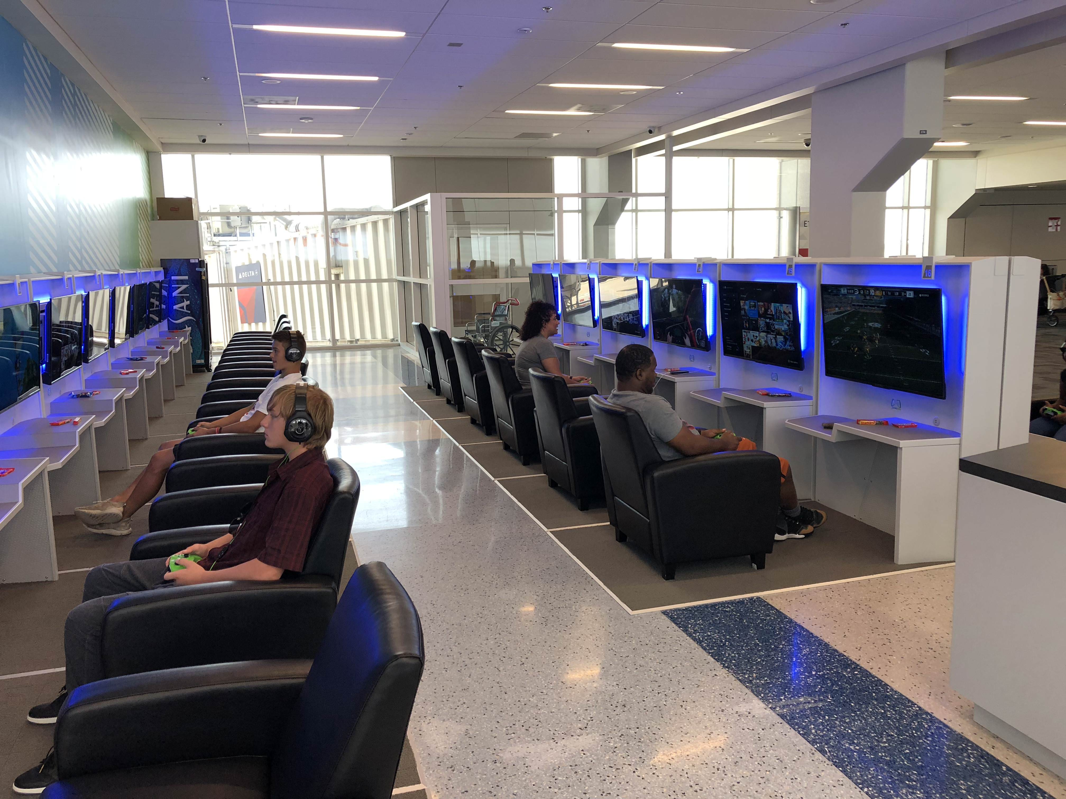 Airport Adds Gaming Lounge So You Can Play While Waiting For Your Plane