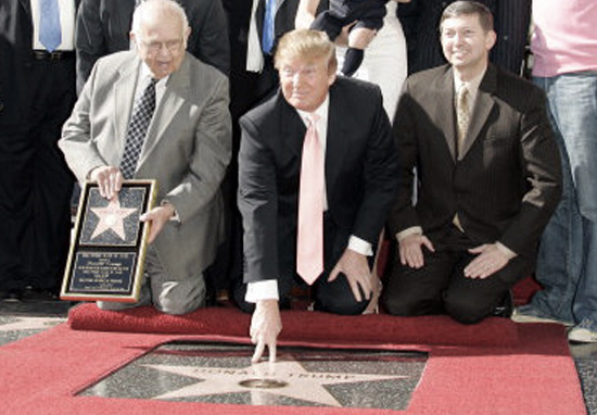 Russian Soldiers Stand Guard At Trumps Hollywood Walk Of Fame Star DonaldTrumpStar