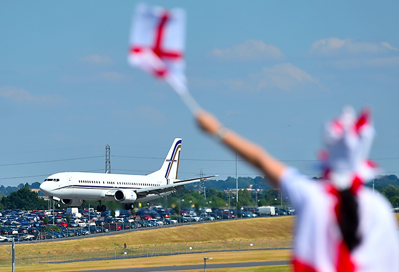 england return home world cup