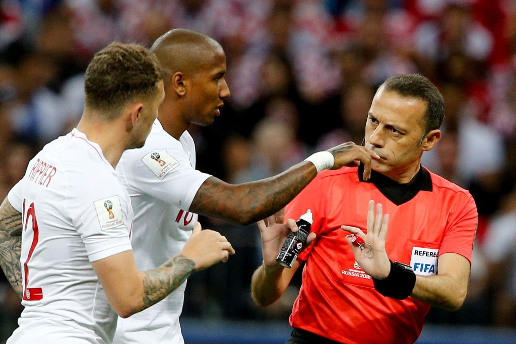 England Fans Hoping Croatia Get Disqualified   Heres The Truth England and Cuneyt Cakir