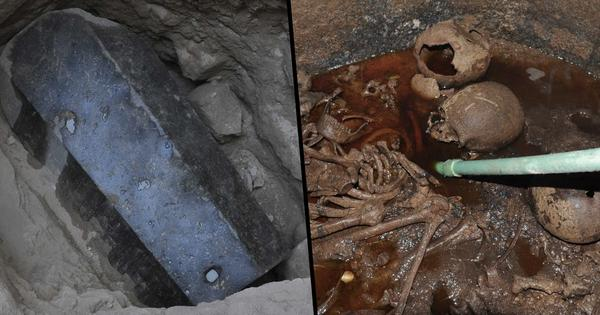 People Want To Drink Red Liquid Found In 2,000-Year-Old Sarcophogus