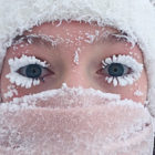 Woman Whose Frozen Eyelash Selfie Went Viral Is Freaking People Out With Latest Post