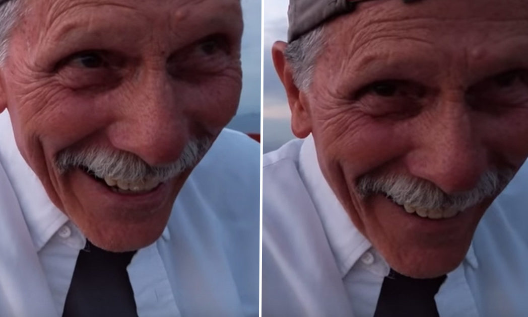 Grandpa Tries To Record Marriage Proposal But Ends Up Filming Himself GRANPA CAMERA FB 1048x630