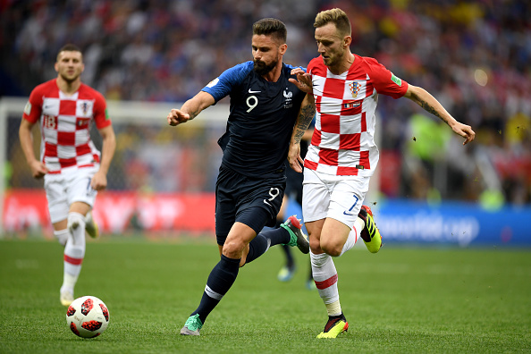 France v Croatia World Cup final