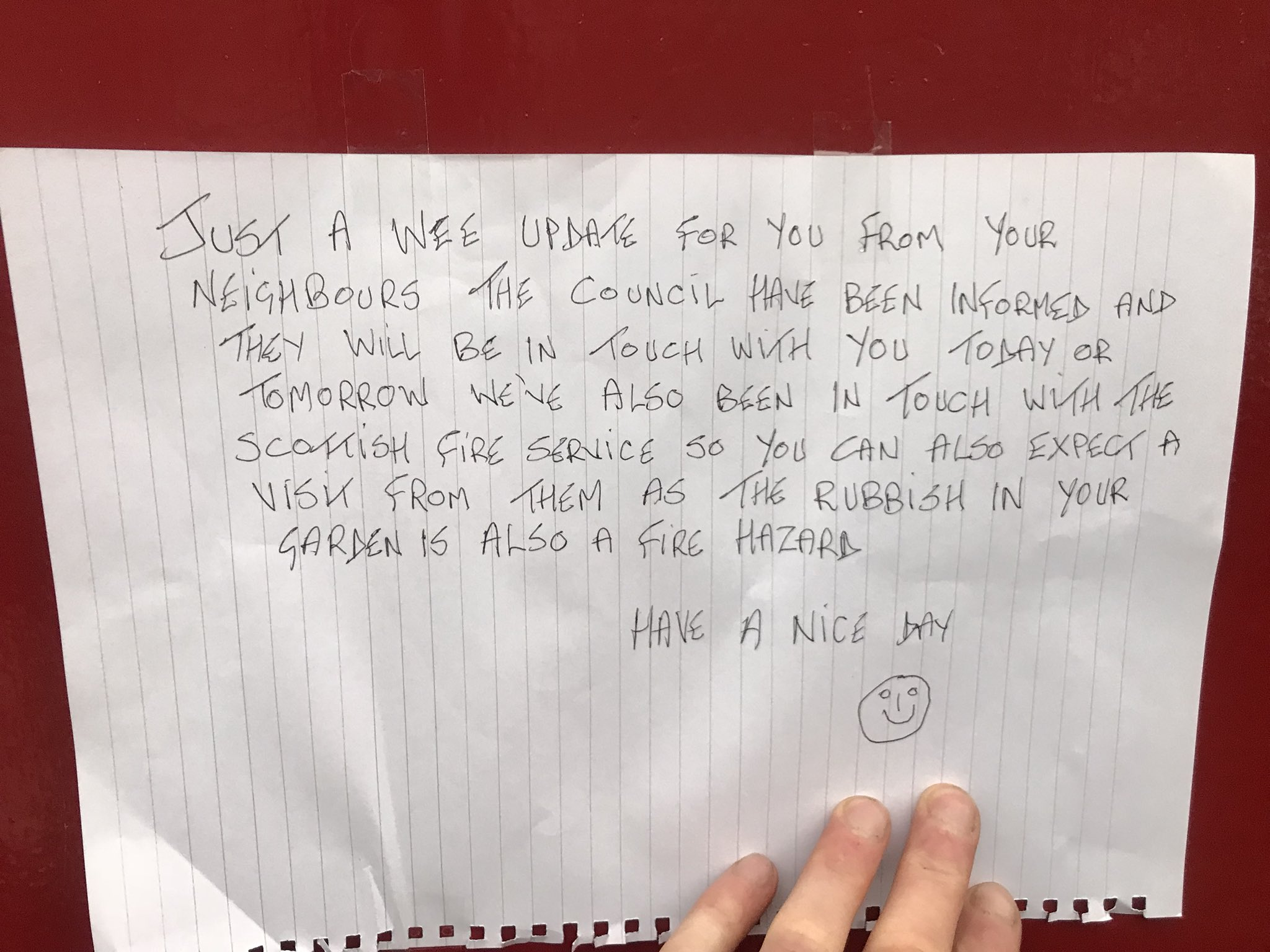 Woman Gets Into Hilarious Note War With Her Angry Neighbour IMG 20180724 011557 1
