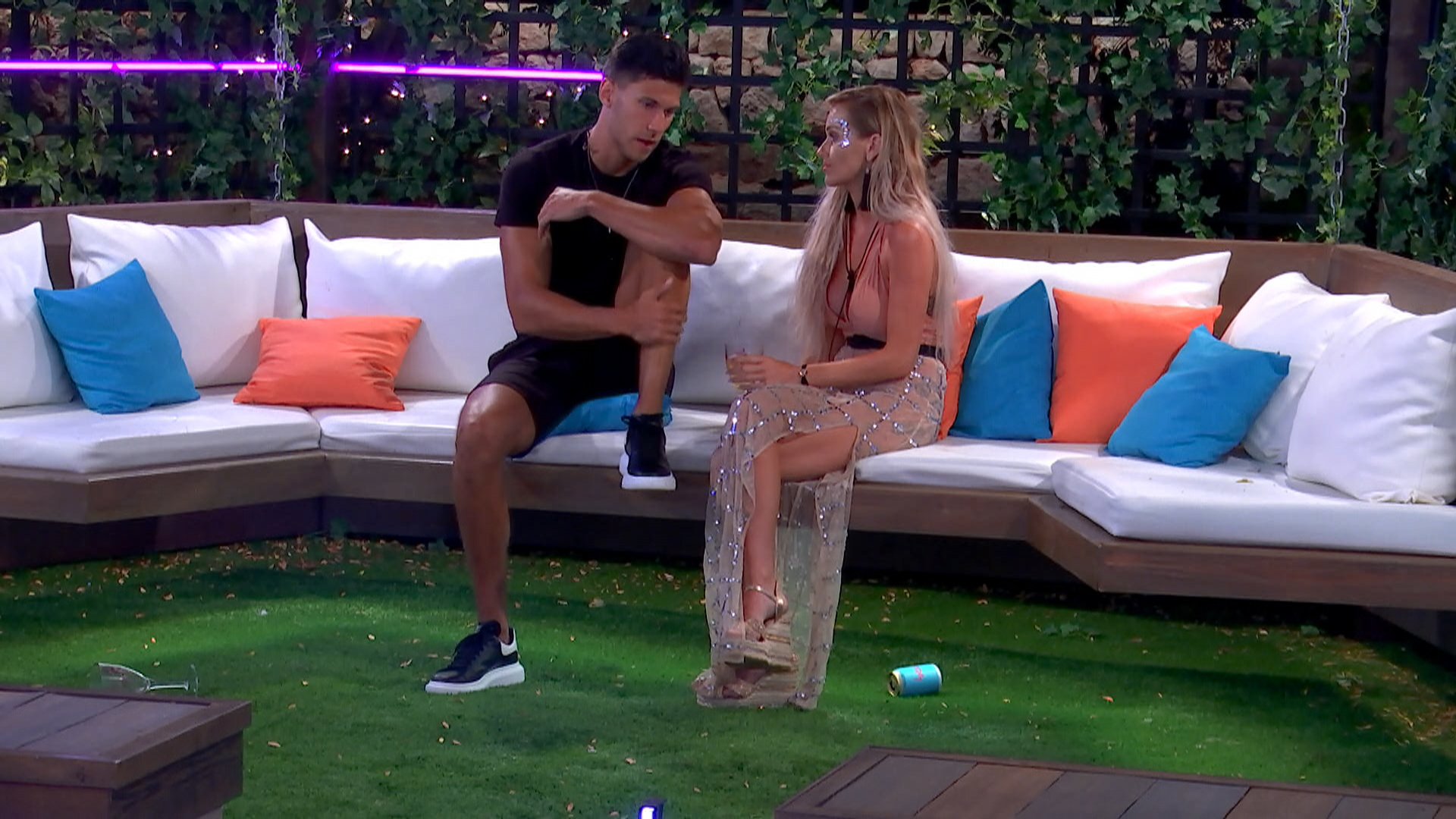 Jack Fowler and Laura Anderson Love Island