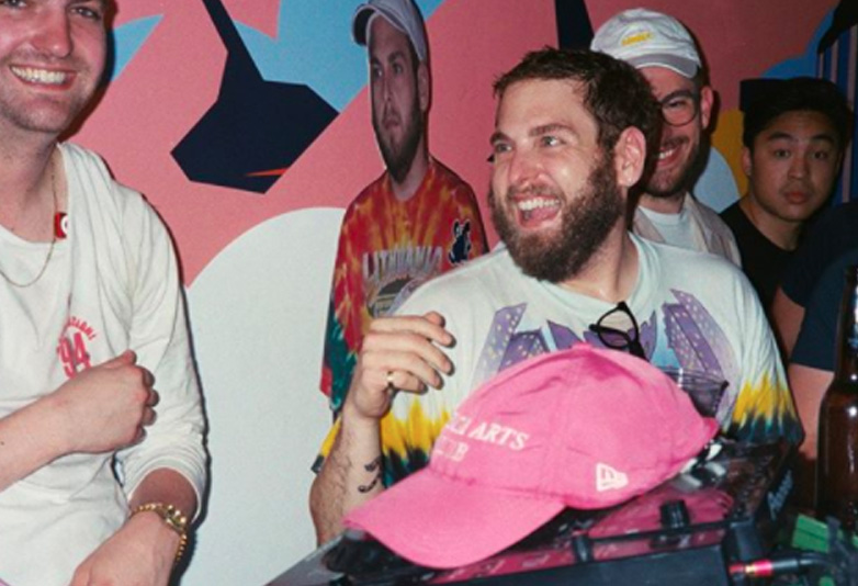 Jonah Hill at his annual party