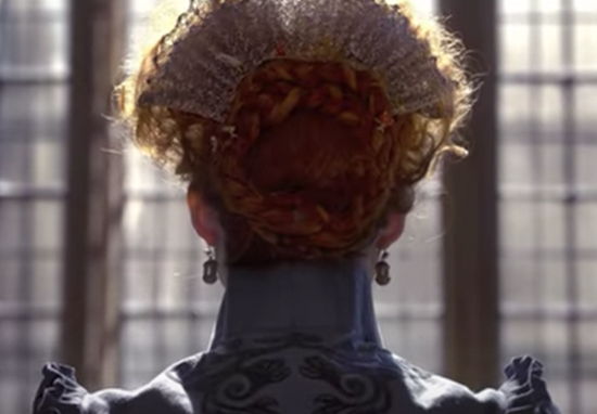 Queen Elizabeth I in Mary Queen of Scots