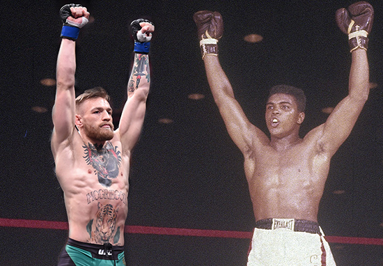 Conor McGregor Is The Greatest Showman Since Muhammad Ali McGregorAli 1
