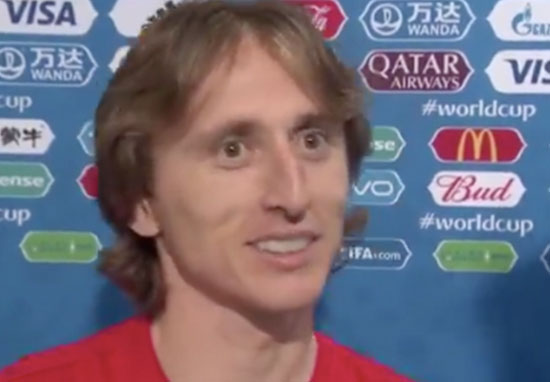 Luka Modrić Said Croatia Were Motivated By Lack Of Respect By English Press Modric