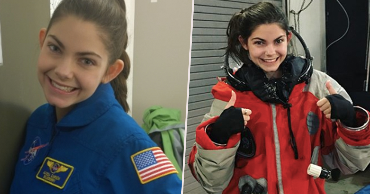 NASA Is Preparing A 17-Year-Old Girl To Become First Human To Reach Mars
