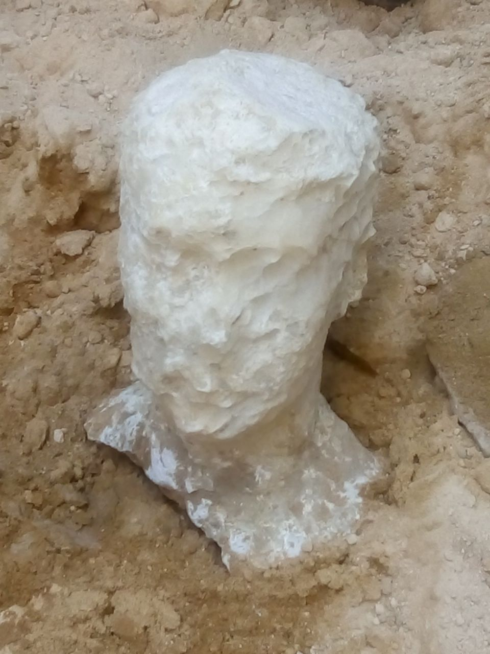 alabaster head egypt