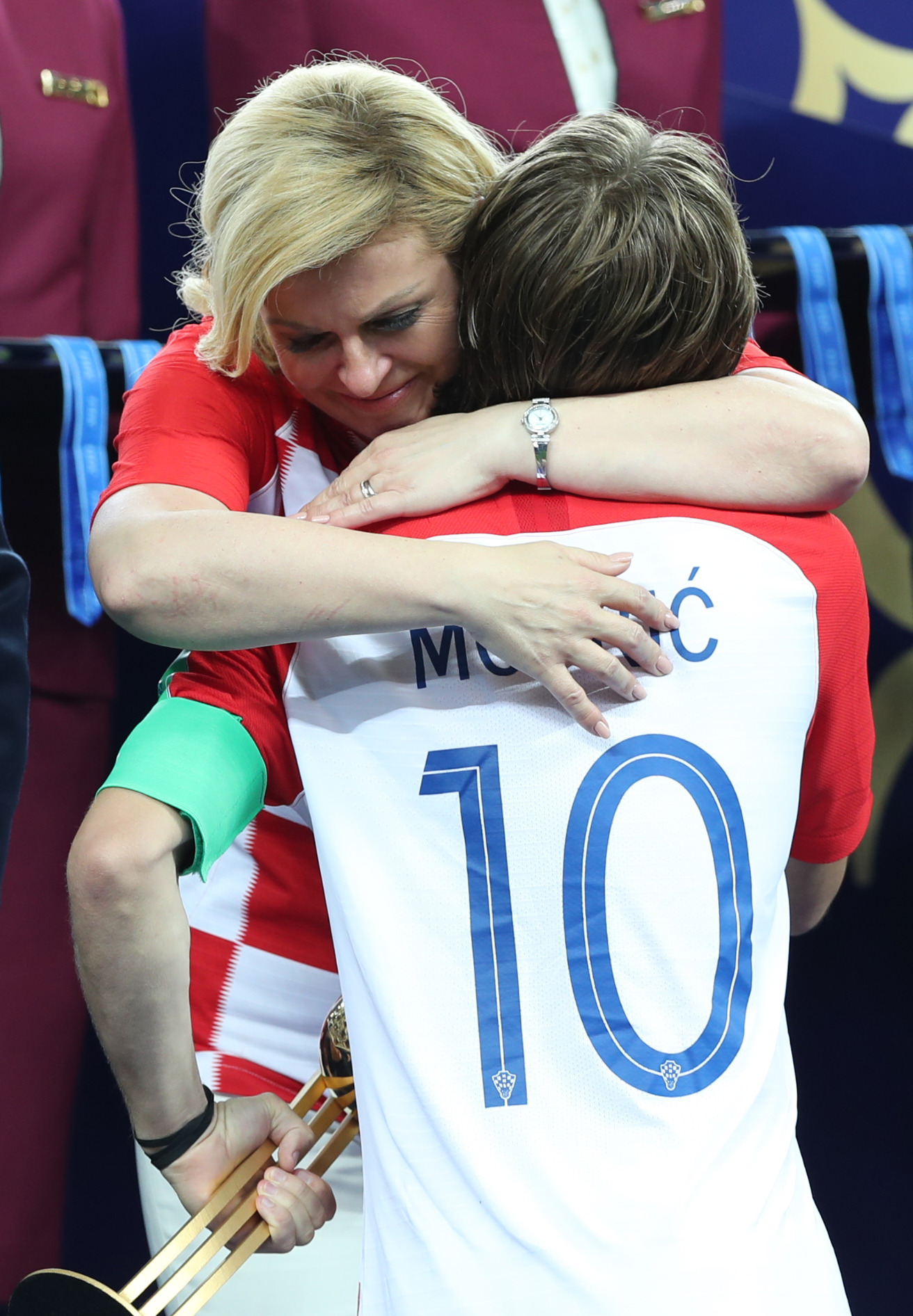 Croatia President Wins Everyones Heart With Her Huge Support For The Team PA 37588452