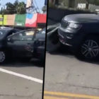 Shocking Road Rage-Fuelled Crash Escalates Very Quickly