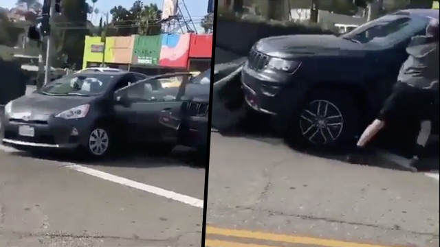 Road rage incident