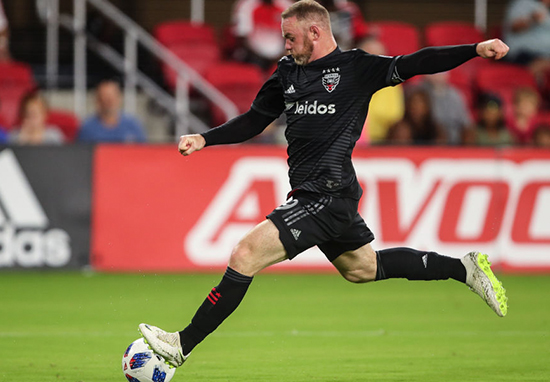 Rooney Scores for DC United