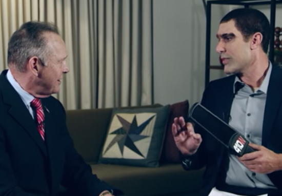 Sacha Baron Cohen Put Roy Moore Through A Paedophile Detector Test Sacha A
