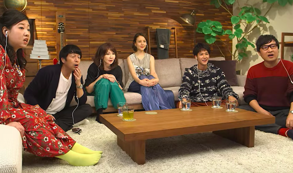 The presenters of Terrace House