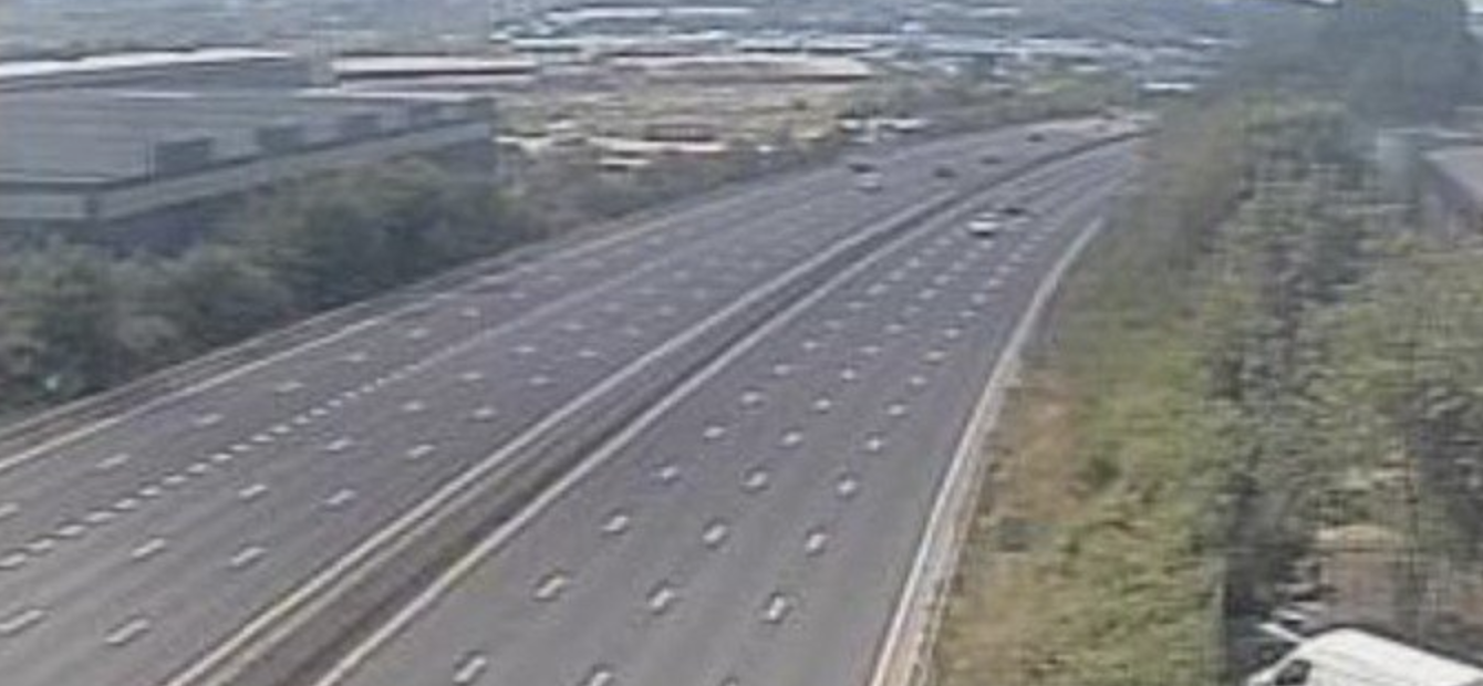 Englands Motorways Were Completely Empty During Sweden Game Screen Shot 2018 07 07 at 17.10.44