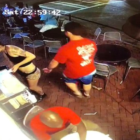 Guy Gropes Waitress's Bum And Gets Exactly What He Deserves