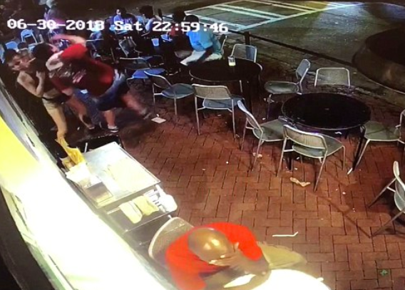 Man Who Groped Waitress Arrested After Being Slammed To The Floor Screen Shot 2018 07 19 at 13.00.47