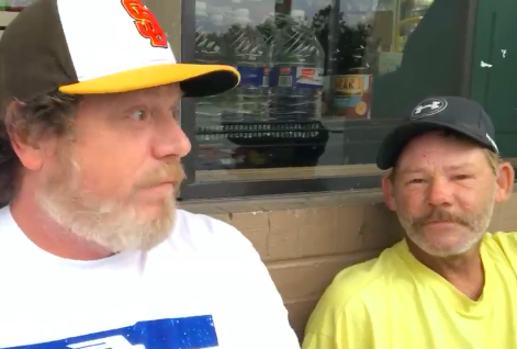Officer Helps Homeless Man Shave For McDonalds Interview Screen Shot 2018 07 25 at 12.58.13