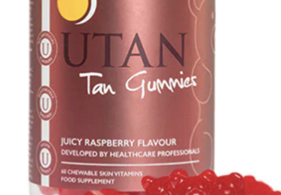 Superdrug is selling gummy bears which will enhance your tan.