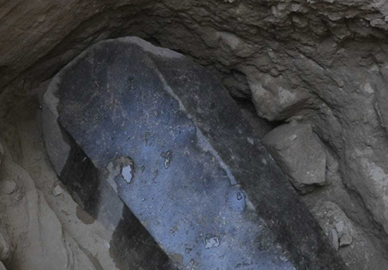 Mysterious 2,000 Year Old Black Sarcophagus In Egypt Has Finally Been Opened Tomb A