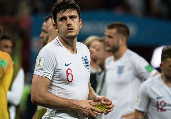 Harry Maguire England World Cup