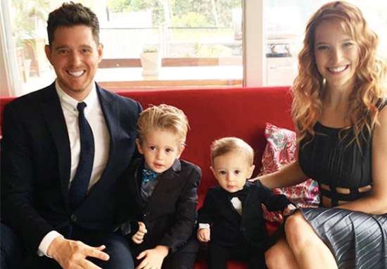 Michael Buble Confirms Wife Is Expecting Their First Daughter WEBTHUMBNEW Buble