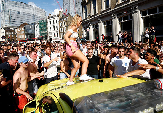 Football Fans Launch Fundraiser To Repair Ambulance Damaged In Wild Celebrations ambulanceREUTERS4