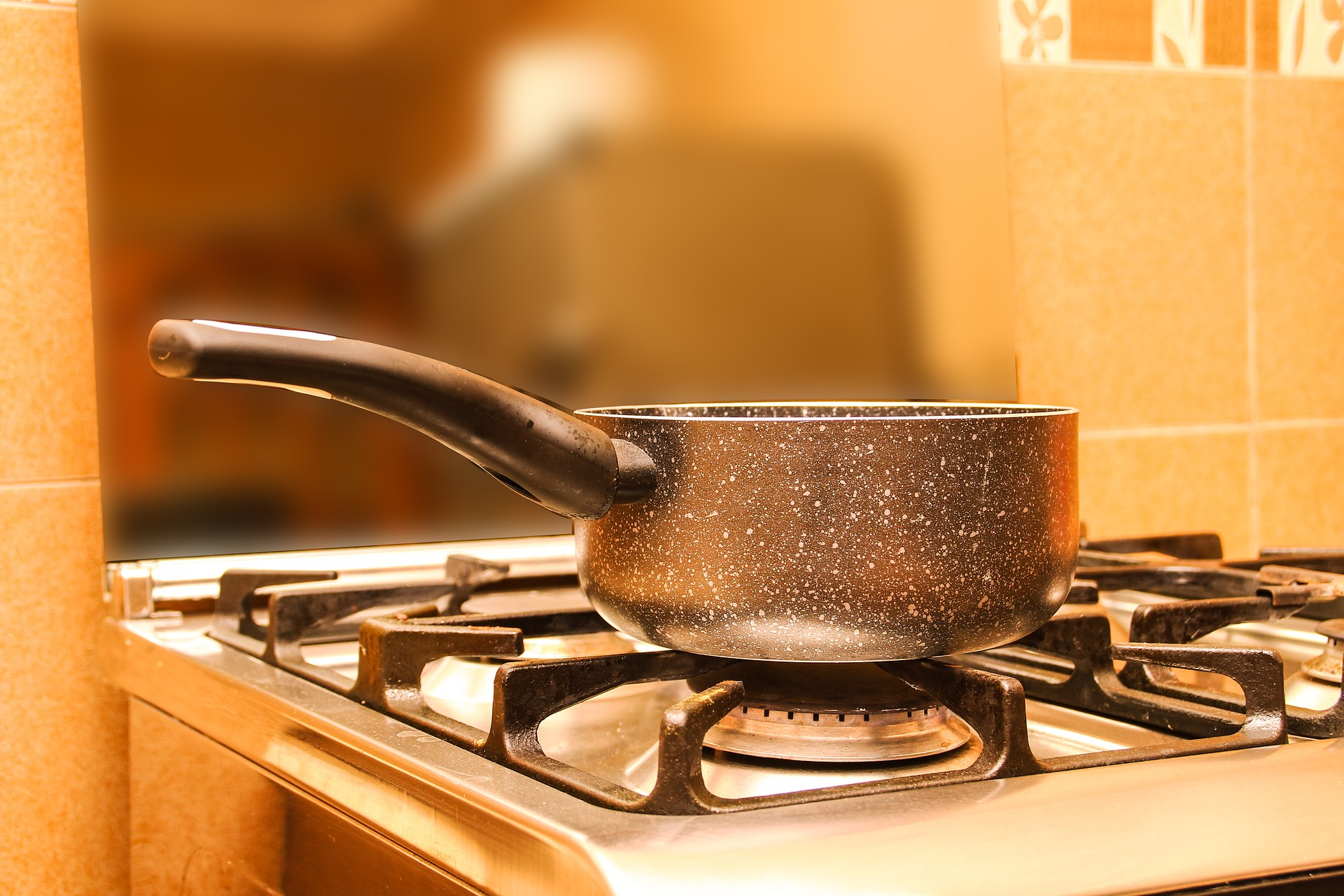 Boiling Water on Stove