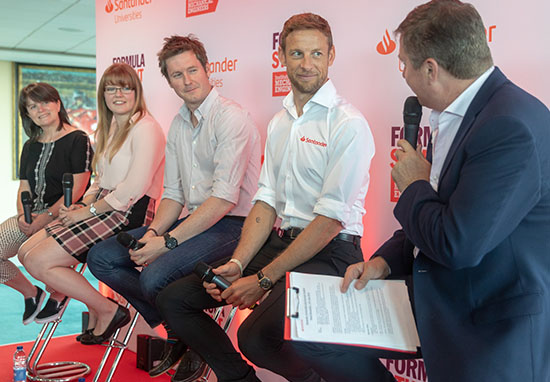 Jenson Button Supports Calls For More Women To Get Involved In Engineering button