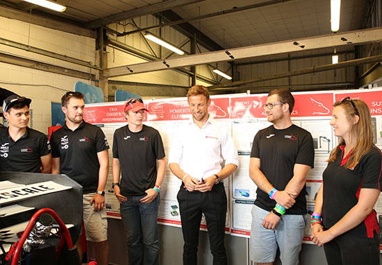 Jenson Button Supports Calls For More Women To Get Involved In Engineering button2