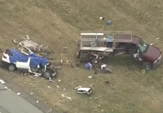 family dies in car crash while mother sleeps